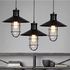 rustic ceiling lights uk industrial metal l shade black rustic pendant lights vintage led