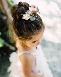 flower girl hair adorable hairstyle ideas for your flower martha stewart