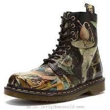 shop s boots canada boots s dr martens pascal 8 eye hell boot hell printed softy