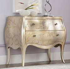 Jessica Mcclintock Bedroom Sets American Drew Jessica Mcclintock Couture Accent Silver Leaf Chest