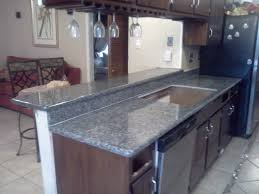 granite countertop kitchen cabinet upgrade installing travertine