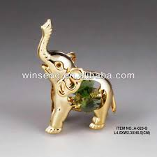 Elephant Decor For Home 24k Gold Plated Baby Elephant For Home Decor Buy Baby Elephant
