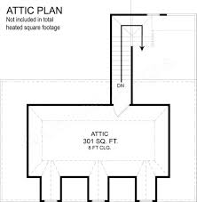 Best Selling House Plans Apartments House With Attic Floor Plan Houses Bedroom Floor