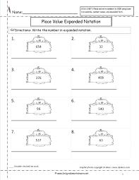 expanded notation worksheet worksheets