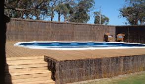 above ground lap pool decofurnish advantages above ground lap pool with deck