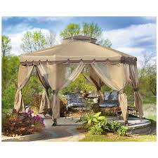 Metal Patio Gazebo by Beautiful Home Garden Landscaping Ideas With Wooden Canopy Gazebo