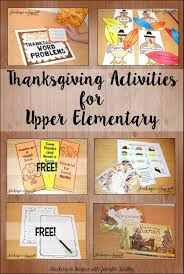 thanksgiving read aloud books thanksgiving activities for upper elementary teaching to inspire