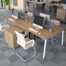 Office Desk Workstation China Modern Furniture Two Person Office Desk With Drawer For