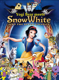 yogi bear meets snow white dwarfs pooh u0027s