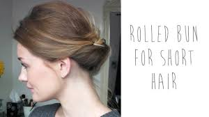 hair buns for hair hair tutorial rolled bun for hair tinytwisst
