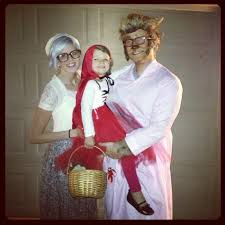 granny halloween costume ideas little red riding hood grandma and the big bad wolf matching