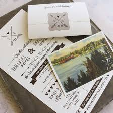 mailing wedding invitations rustic seal and send wedding invitation self mailer wedding