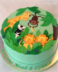 jungle baby shower cakes jungle baby shower cake baby shower cake for boys flickr