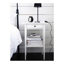 hemnes nightstand black brown ikea