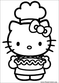 drawings paint u0026 colour kitty print design 041