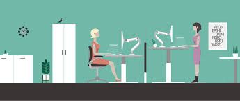 Standing Desk Posture by Maximize Your Benefits From A Sit Stand Desk U2014 Office Designs Blog