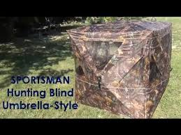Umbrella Hunting Blinds Sportsman Deer Blind Available At Tractor Supply Youtube