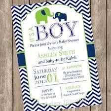 elephant boy baby shower invitation elephant baby shower