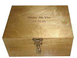 engraved memory box engraved wooden keepsake box designing personalised wooden