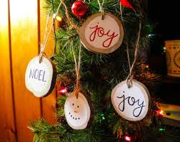 15 best painted wood slice ornaments images on