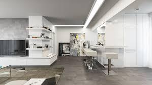 white modern barstools interior design ideas