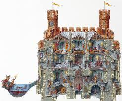 castle keep cutaway crossling pinterest cutaway castles and