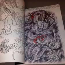 yuelong a4 oriental chinese dragon tattoo flash manuscripts