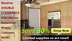 Kitchen Cabinets On Clearance Buy American Maple Wholesale Rta Kitchen Cabinets Base Cabinets