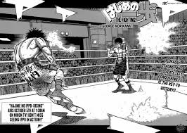 hajime no ippo hajime no ippo 1033 read hajime no ippo 1033 online page 1