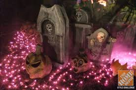 How To Make A Haunted Maze In Your Backyard Halloween Decorating Ideas For The Yard The Home Depot