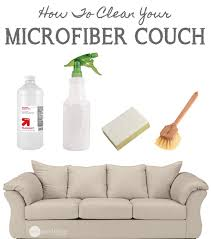 How To Clean Microfiber Sofa At Home How To Clean Your Microfiber Furniture The Safe And Easy Way