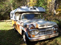 Vintage Ford Truck Camper - history old campers let u0027s see what you got page 38 the