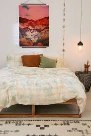 overdyed flannel duvet cover urban outfitters