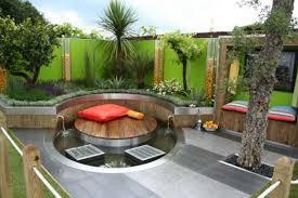 Backyard Propane Fire Pit by Simple Backyard Designs Gardening Hanging Planter Limestone