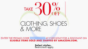 black friday coupon codes amazon amazon com 30 off clothing shoes u0026 more no min spend black