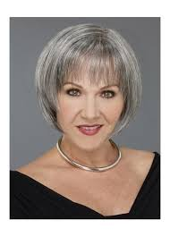 wigs for women over 50 with thinning hair grey bob for old women short bob wigs for white women