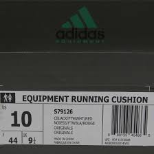 Cushion Core Adidas Men Eqt Running Cushion 93 Black Core Black White Red