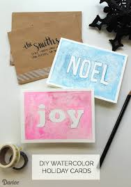 christmas cards in watercolor christmas cards tutorial watercolor darice