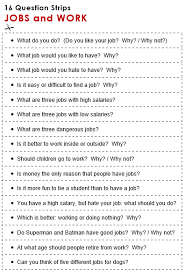 jobs and work all things topics