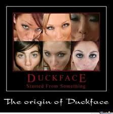 Origin Of The Meme - origin of duck face by random meme center