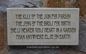garden plaques wall sign the of the sun garden wall plaques find
