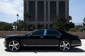 black and gold bentley 2015 bentley mulsanne on 24