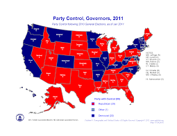 2016 Election Prediction Map by Polidata Election Maps Governors U0026 Legislature 2010