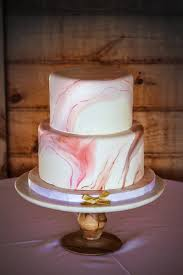 modern marble wedding cake with painted marbling details wedding
