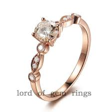 38 magnifincent art deco engagement rings rose gold in italy wedding