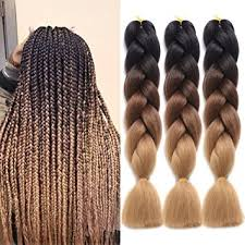ombre human braiding hair amazon com ding dian synthetic braiding hair extensions