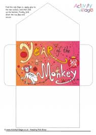 lucky envelopes year of the monkey lucky money envelope new year