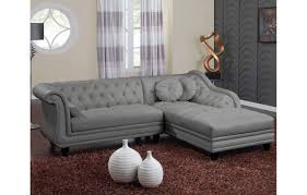 canap chesterfield gris canapé d angle chesterfield canap d 39 angle gauche chesterfield