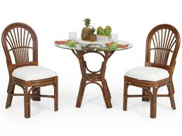 Indoor Bistro Table And 2 Chairs 5555 Islamorada 3 Piece Bistro Set