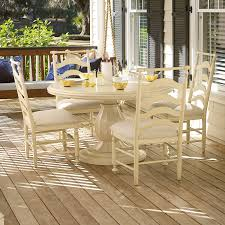 paula deen dining room set paula deen river house 5 piece round dining table set river boat